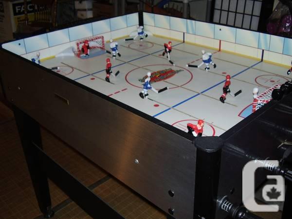 Stick hockey table