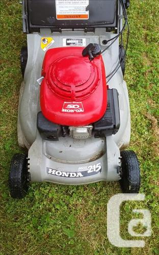 Honda 215b Lawn mower