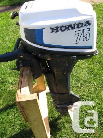 Honda 7 5 hp outboard motor for sale in whistler for Honda outboard motor sales