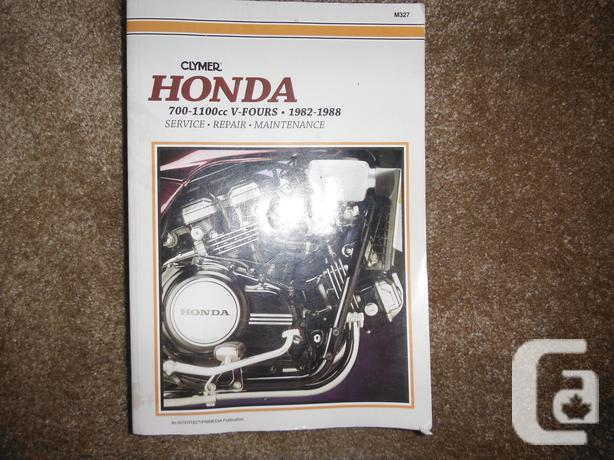 Honda 700-1100cc V-Fours 1982-1988 Magna Sabre Shop Manual ... on