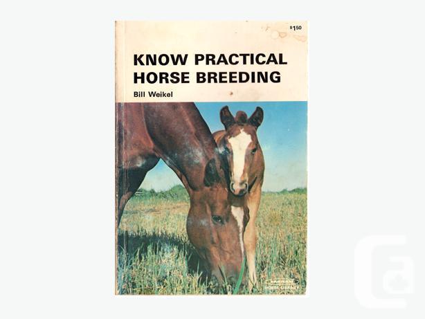 Horse Books, Riding, Vet Etc. $5.00 each