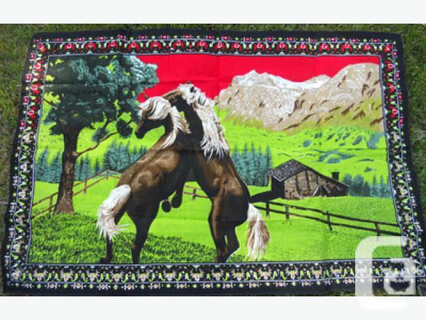 Horse, Wall Hanging Tapestry, as NEW