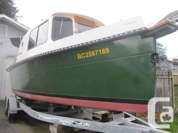 Houseboat trawler - $28800 in Kamloops, British Columbia for sale