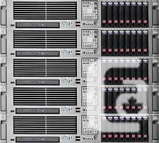 HP G5 Host 2 X Quadcore 3.0Ghz 8 X 146GB - $600