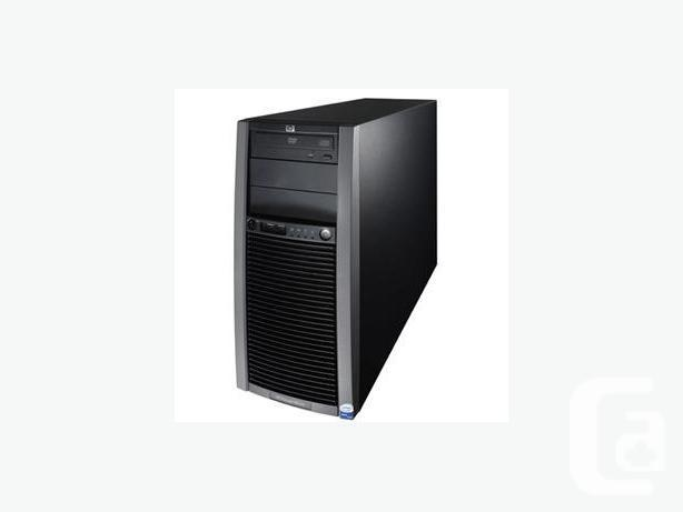 HP ML150 G5 server with Windows 7 Professional 64bit