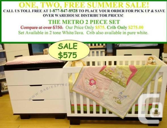 Huge Savings On Convertible Baby Cribs! Nursery Sets! -