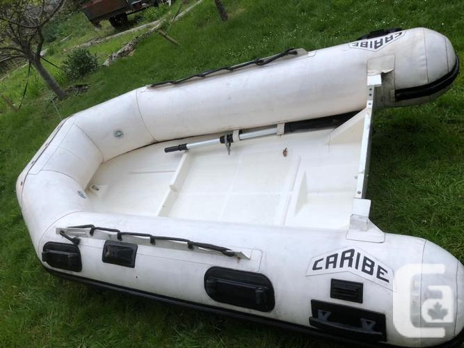 Hypalon Caribe C8 RIB Inflatable boat in Victoria, British Columbia for sale