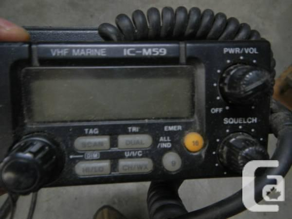 I-com VHF radio - $150