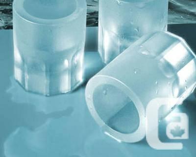 Ice Shooters Freezer Mold Drinking Shot Glasses - $25