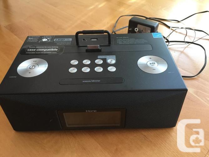 iHome iD85 music/radio and alarm clock