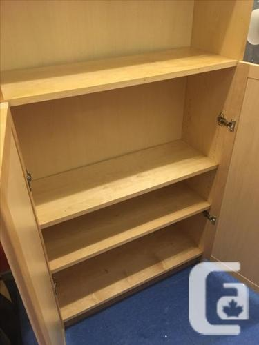 "IKEA ""BILLY"" bookcase with doors"