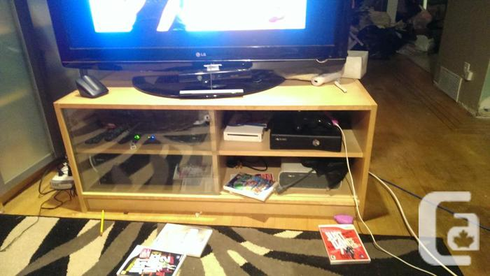 Ikea Billy Book Shelves and TV stand