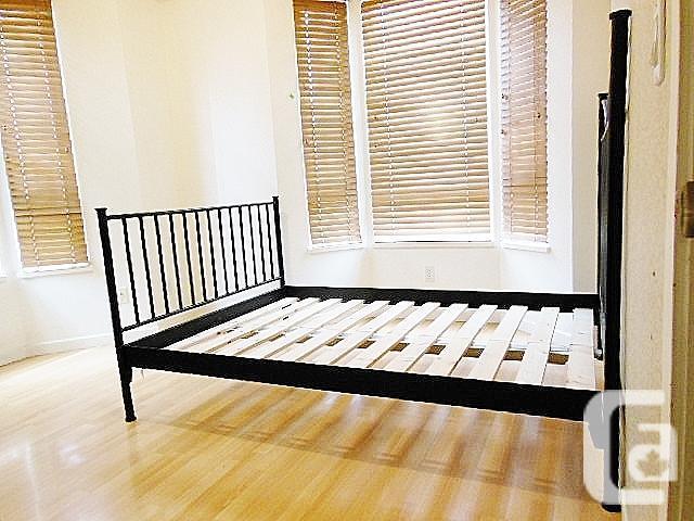 Ikea HALDEN Bed Frame - Black - Full Double