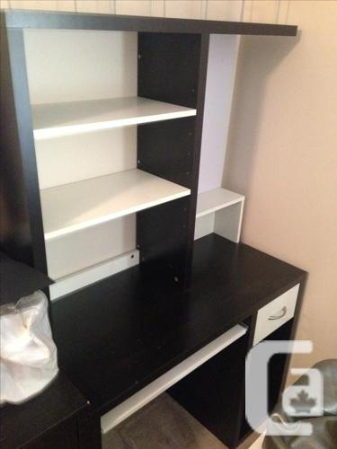 ikea mikael computer desk for sale in new westminster british columbia classifieds. Black Bedroom Furniture Sets. Home Design Ideas
