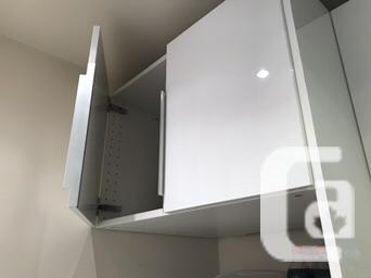 IKEA Ringhult sink and fridge cabinetry