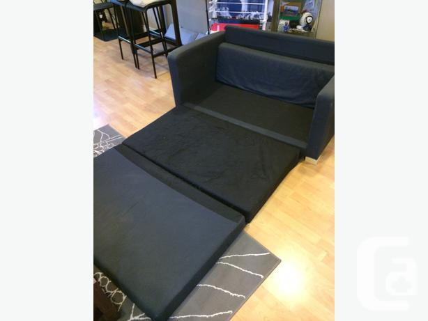 Ikea Solsta Sofa Bed Blue For Sale In Pitt Meadows British