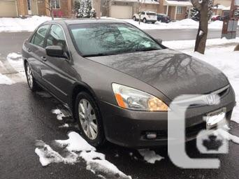 Immaculate 2007 Honda accord EX-L Leather automatic