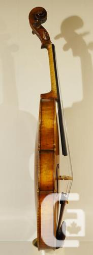 Immaculate violin made by a master