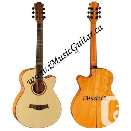 iMusic18 Cutaway Acoustic Guitar Brand New - $170