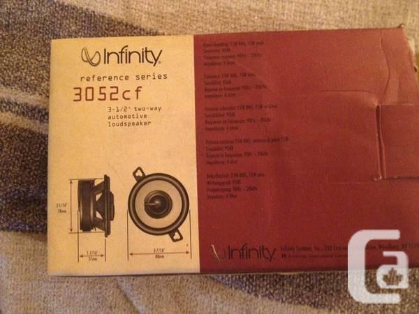Infinity Reference 3052cf Car Speakers - $25