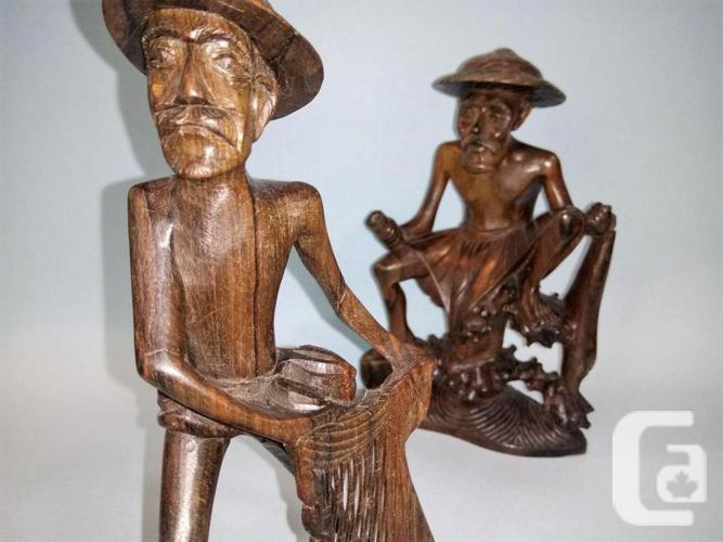 INSPIRING handcrafted fisher men for a FISHING