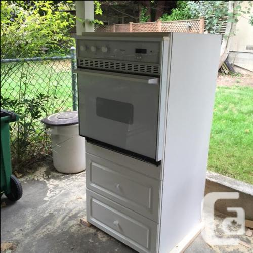 Damaged Kitchen Cabinets For Sale: Intergrated Wall Oven W/cabinet For Sale In Telegraph Cove