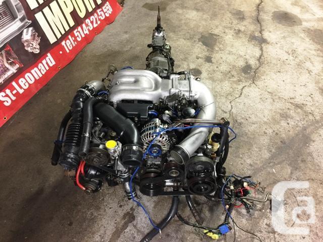 JDM 13BTT FD3S TWIN TURBO MOTOR MT TRANSMISSION HARNESS