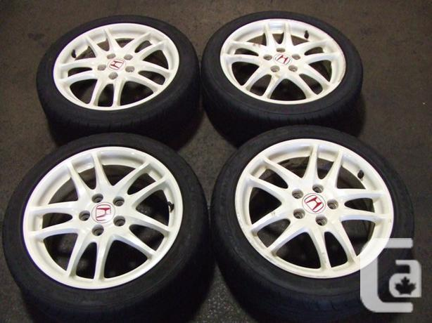 JDM ACURA RSX DC TYPER WHITE WHEELS R HONDA JDM MAGS For - Acura rsx type r for sale