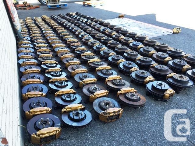 JDM GOLD BREMBO SUBARU STI VERSION 7-8-9 5X100 5X114.3
