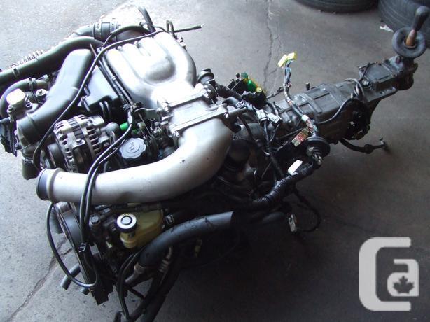 jdm mazda rx-7 fd 13b-tt engine twin turbo 1993+ mt