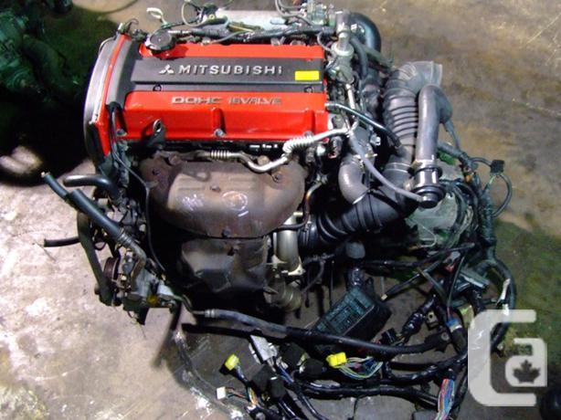 JDM MITSUBISHI 4G63T EVOLUTION TURBO ENGINE MT TRANSMISSION ECU in Vimont,  Quebec for sale