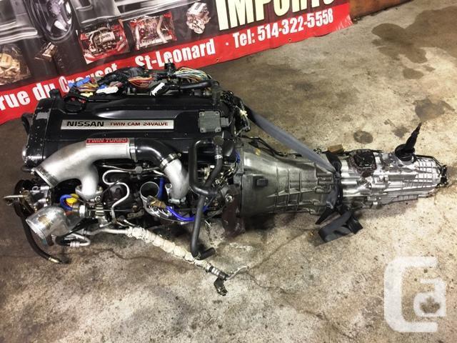 JDM RB26DETT R33 TWIN TURBO ENGINE AWD 5 SPEED MT