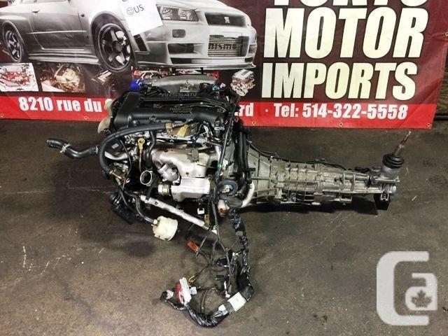 JDM SR20DET S15 ENGINE 2.0L WITH 6 SPEED MT