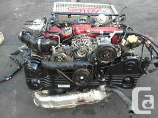 JDM Subaru Wrx Sti EJ20-T 6speed Engine Swap Version-8 in Saint-Leonard,  Quebec for sale