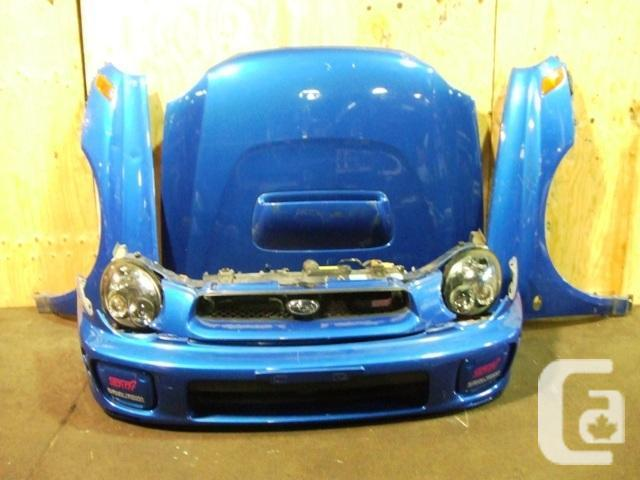 JDM SUBARU WRX STI VERSION 7 HID NOSE CUT FRONT END