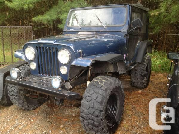 Jeep CJ-5 1980 off-road machine - for sale in Toronto ...
