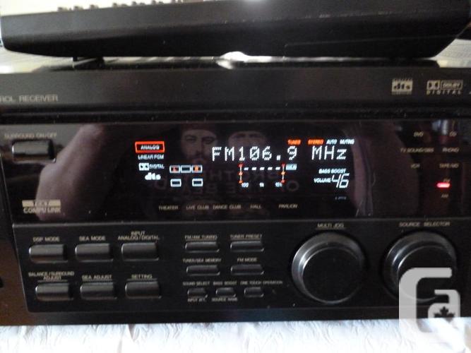 JVC RX-7000V AM/FM Stereo Receiver Phono Amplifier &
