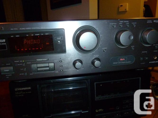 JVC RX-717V AV Control Receiver Amplifier 105