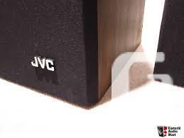 JVC SK-101(C) Speakers 3 Way Great Sound Wood