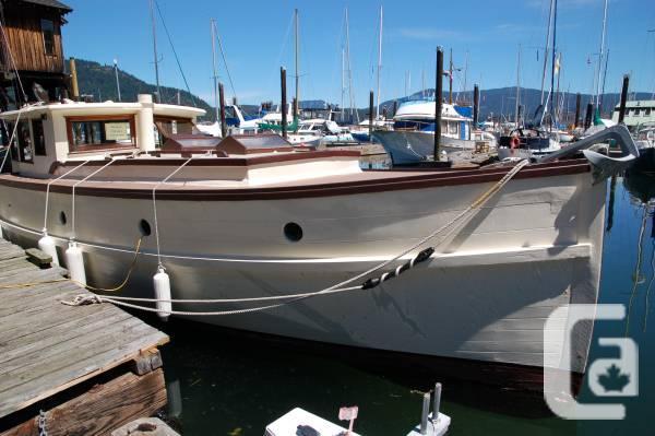 Kalisha 101 Year Old Wooden Boat Car Cruiser For Sale In