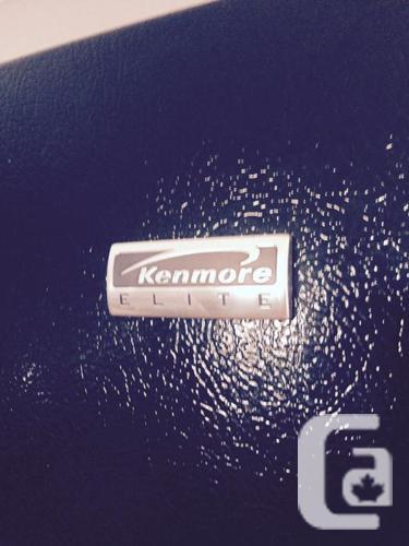 Kenmore Elite French Door Top Bottom Mount Freezer For