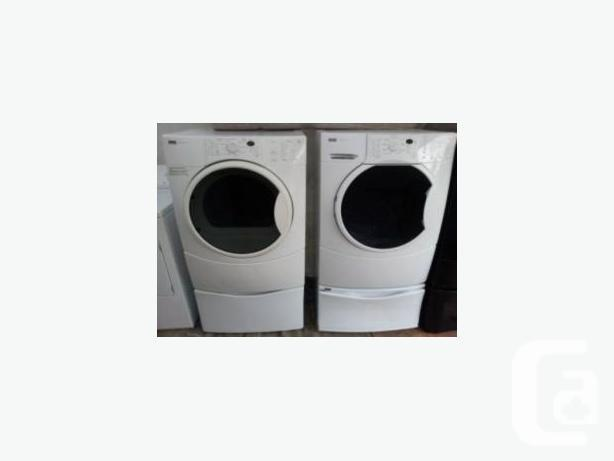kenmore elite washer and dryer white. kenmore elite quiet pak 9 front load washer and dryer white