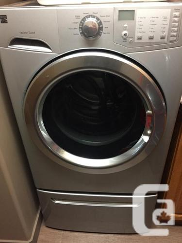 Kenmore front load washer and front load dryer