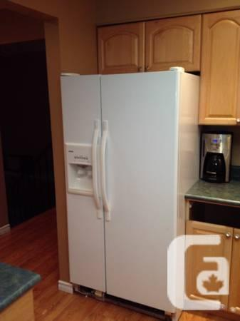Kenmore Side-by-side Fridge - $325