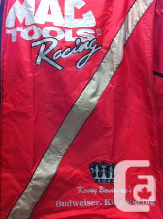 Kenny Bernstein Mac Tools Bud Racing Toolbox Cover for sale