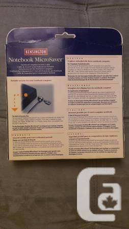 Kensington MicroSaver NOTEBOOK Security LOCK 64068C NEW