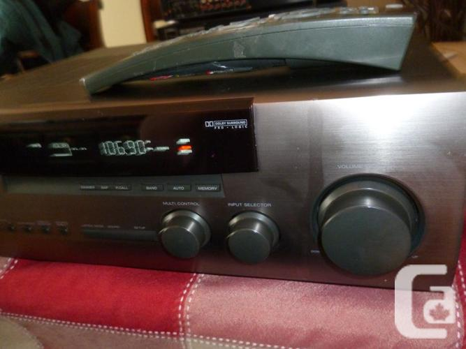 Kenwood VR-257 A-V AM-FM Stereo Receiver Phono Amp &