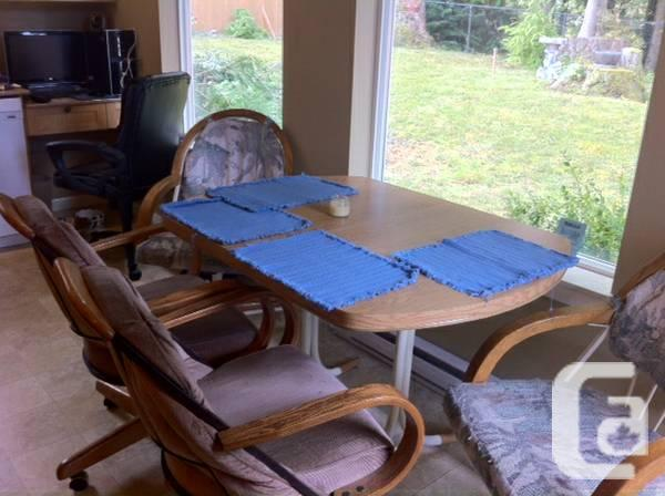 Kitchen table and chairs - $50