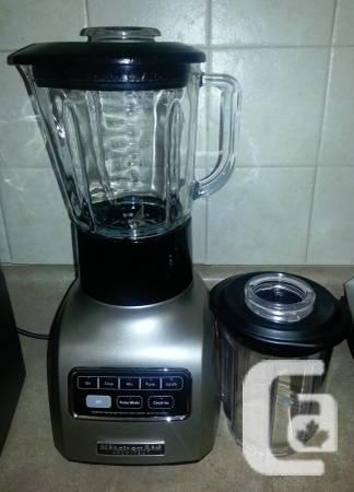 KitchenAid 5-speed Blender with bonus Accessory jar -