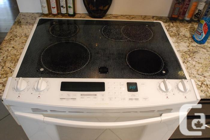 kitchenaid superba flat top stove in white in regina saskatchewan for